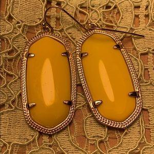 Yellow Kendra Scott Earrings